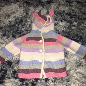 Baby Gap knit button up sweater